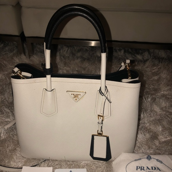 33def08a6915 Prada Bags | Gorgeous Saffiano Double | Poshmark